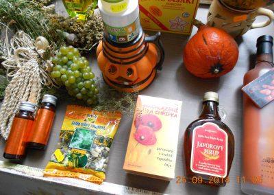 Podzimní nabídka potravin