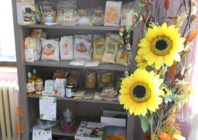 Široký výběr obilných i bezlepkových výrobků